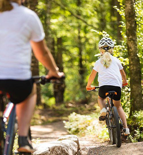 Kungsbygget Äventyrspark cykel